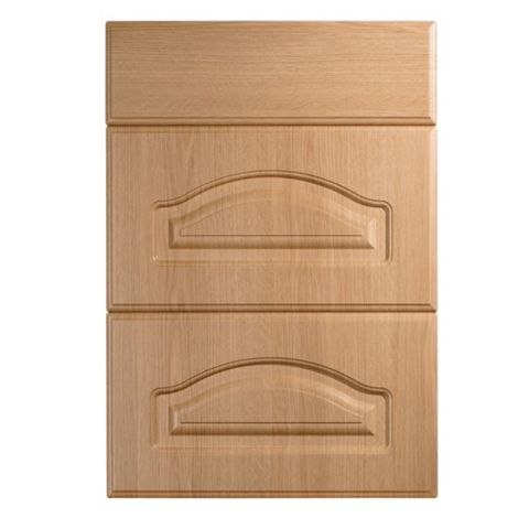IT Kitchens Chilton Traditional Oak Effect Drawer Front (W)500mm, Set of 3