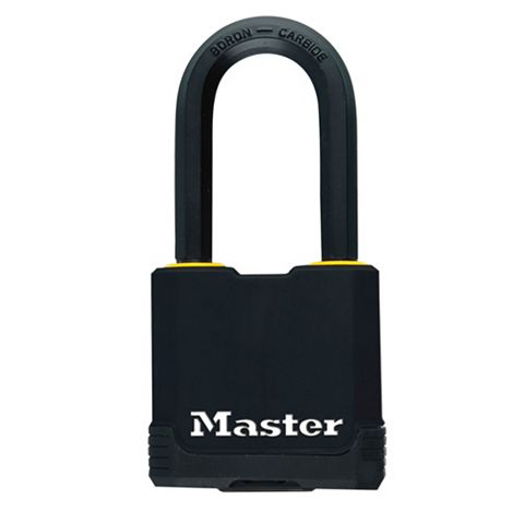 Master Lock Excell Steel Double Ball Bearing Locking Padlock (W)54mm