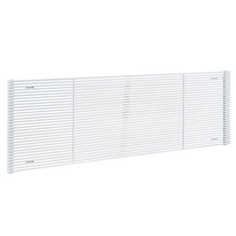 Acova Striane Horizontal Radiator White, (H)456 mm (W)1400mm