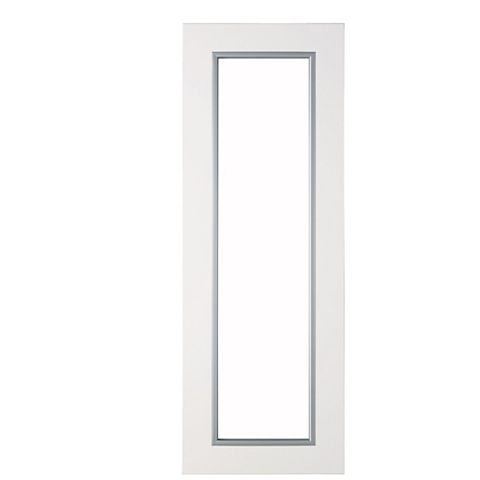 IT Kitchens Santini Gloss White Slab Glazed Bridging Door / Pan Drawer Front (W)1000mm