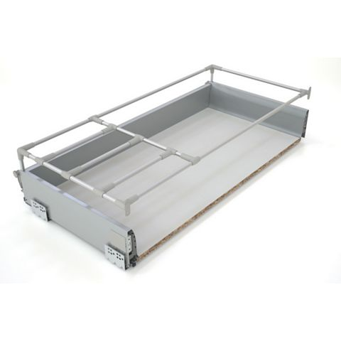 IT Kitchens Silver Effect Drawer Box (W)968mm