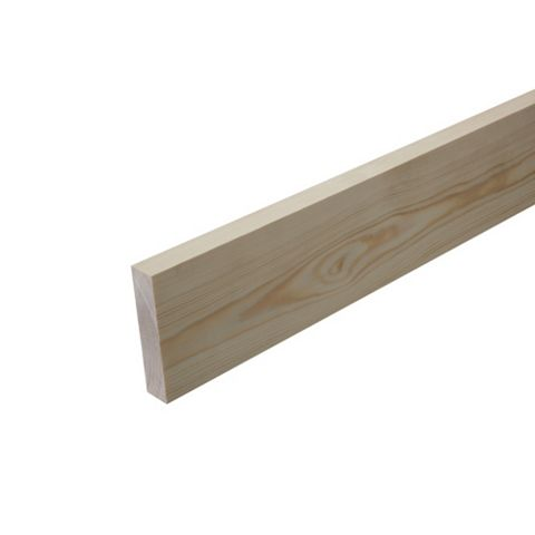 Stripwood Moulding (T)12mm (W)25mm (L)900mm