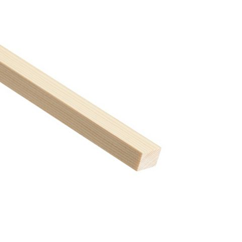 Stripwood Moulding (T)18mm (W)25mm (L)2400mm