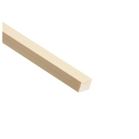 Stripwood Moulding (T)21mm (W)25mm (L)2400mm
