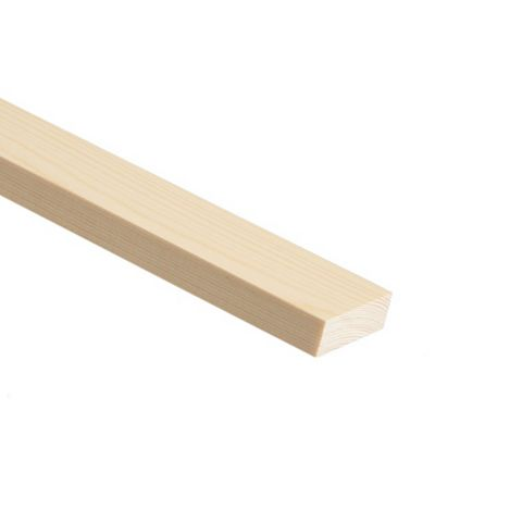 Stripwood Moulding (T)25mm (W)44.5mm (L)900mm