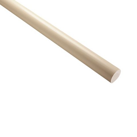 Primed Wall Mounted Mopstick Handrail (L)4200mm