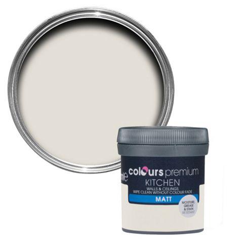 Colours Kitchen Victorian Lace Matt Emulsion Paint 50ml Tester Pot