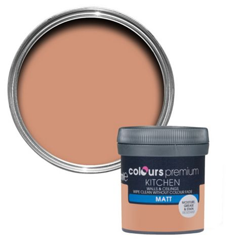 Colours Kitchen Tuscan Roof Matt Emulsion Paint 50ml Tester Pot