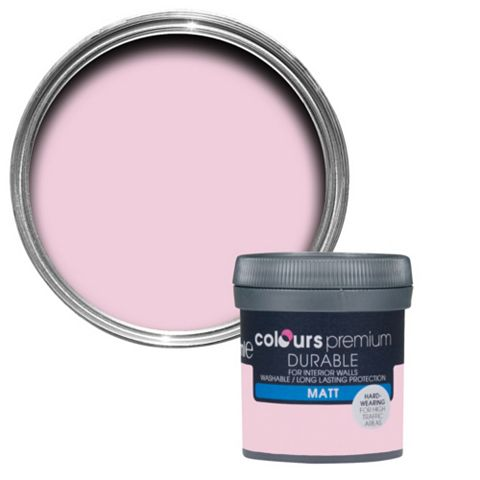 Colours Pink Pink Matt Emulsion Paint 0.05L Tester Pot