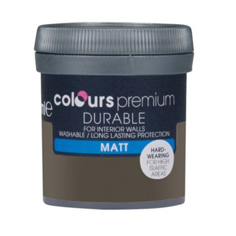 Colours Durable Dark Horse Matt Emulsion Paint 50ml Tester Pot