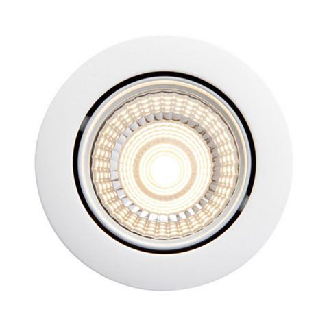 Diall White Matt Downlight 7 W