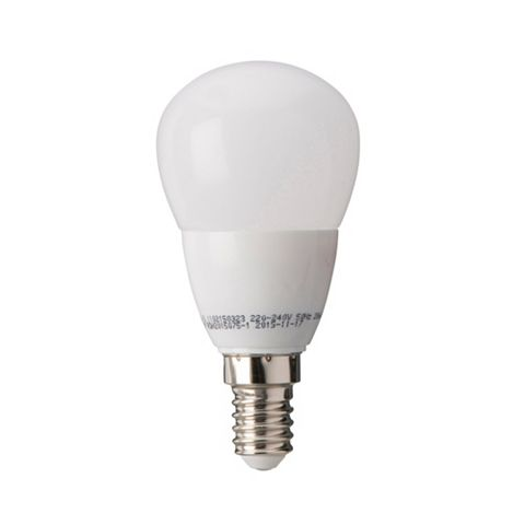 Diall Small Edison Screw Cap (E14) 3.2W LED Ball Light Bulb