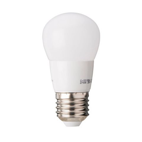 Diall Edison Screw Cap (E27) 3.2W LED Ball Light Bulb