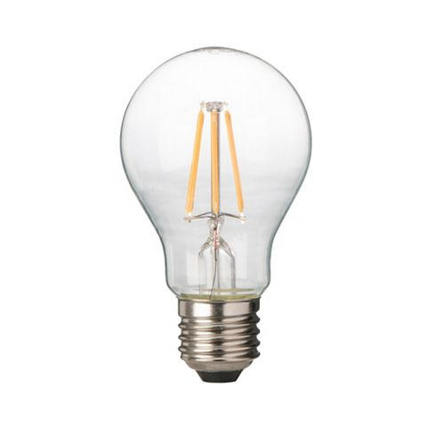 Diall Edison Screw Cap (E27) 6W LED Filament Classic Light Bulb