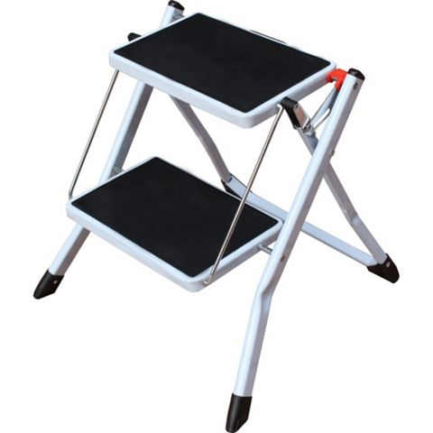 2 Tread Steel & Plastic Step Stool, 554mm