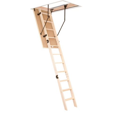 3 Section Folding Loft Ladder, 280mm