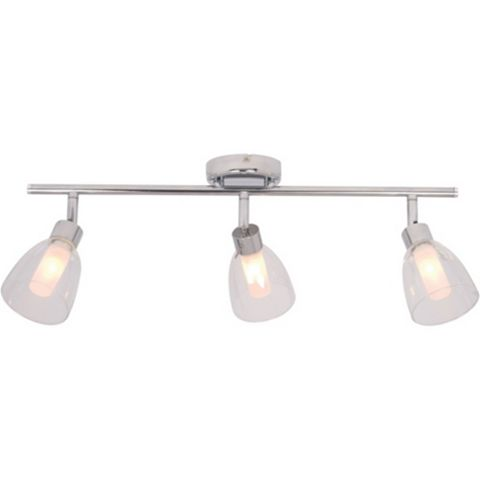 Geni Chrome Effect 3 Lamp Bathroom Spotlight