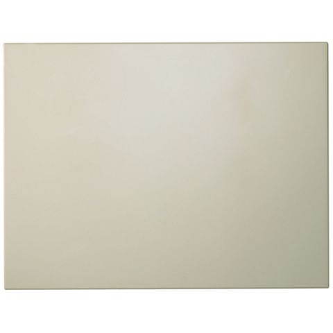 Cooke & Lewis Raffello High Gloss Cream Belfast Sink Door (W)600mm