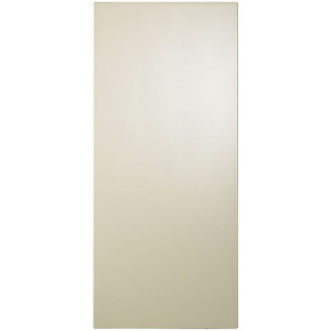 Cooke & Lewis Raffello High Gloss Cream Slab Tall Standard Door (W)400mm