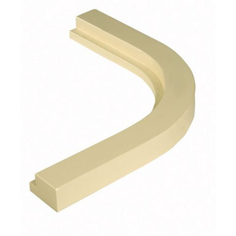Cooke & Lewis High Gloss Cream Cornice or Pelmet, 363mm