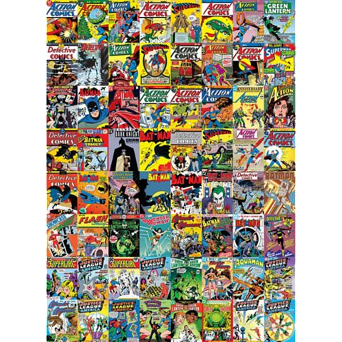 Creative Collage Dc Comics 64 Piece Creative Collage
