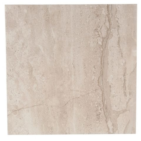 Bali Grey Porcelain Floor Tile, Pack of 9, (L)333mm (W)333mm