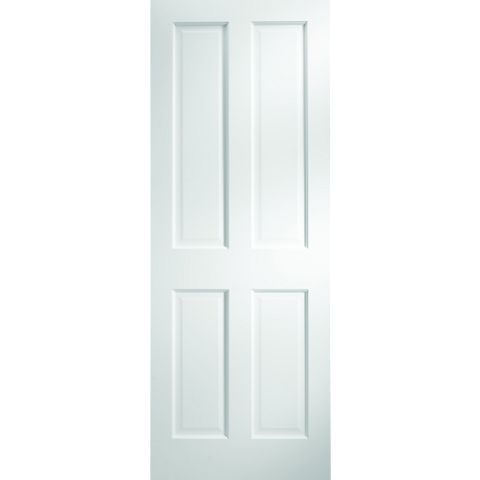 B&Q Primed Unglazed Door, 686mm