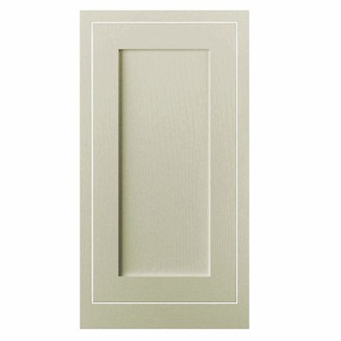 Cooke & Lewis Carisbrooke Taupe Framed Tall Standard Door (W)500mm