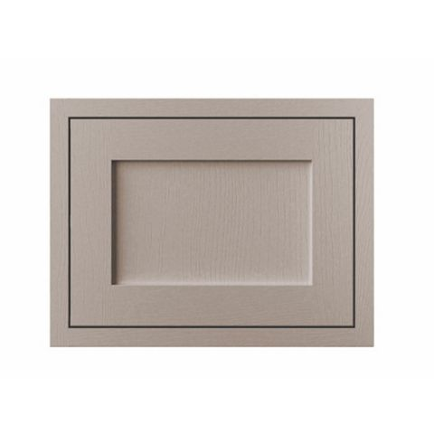 Cooke & Lewis Carisbrooke Taupe Framed Belfast Sink Door (W)600mm