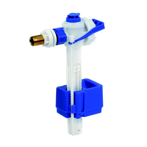 Fluidmaster 747EL Blue & White Side Entry Valve (Dia)3/8