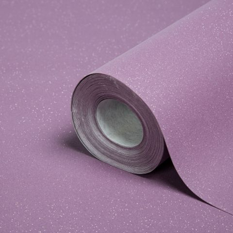 Plain Purple Glitter Effect Wallpaper