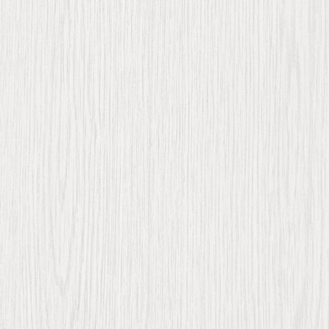 D-C-Fix Wood Effect White Gloss Self Adhesive Film (L)2.1m (W)90cm