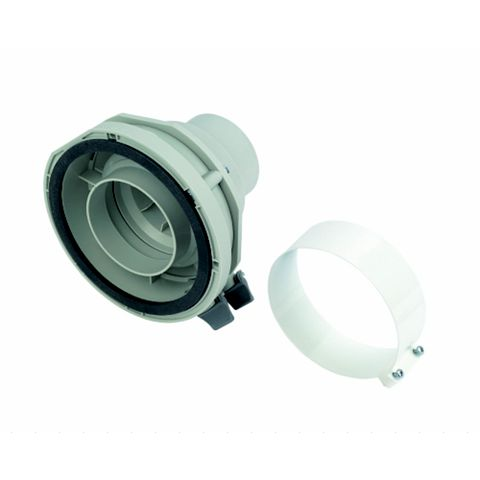 Worcester Bosch Vertical Adaptor 60/100mm 100mm