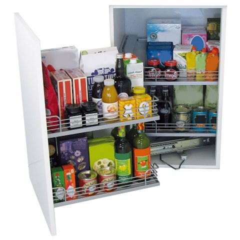Kesseböhmer LH Magic Corner Cabinet Storage, 900-1000mm