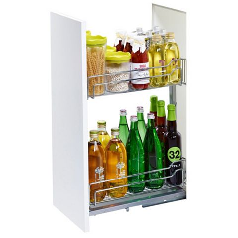 Kesseböhmer Base Cabinet Pull-Out Storage, 300mm