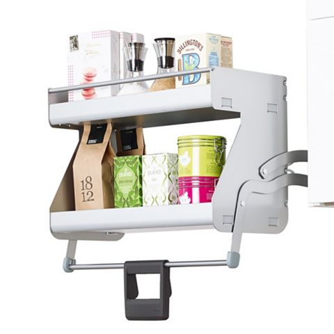 Kesseböhmer Two Tier Internal Pull Down Shelf, 600mm