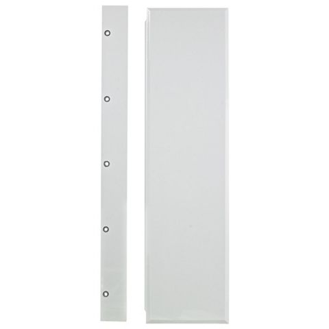 Cooke & Lewis Gloss White Bath Front Panel (W)1700mm