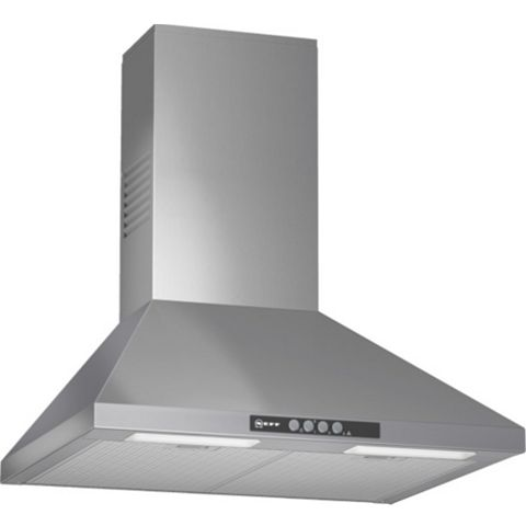Neff D66B21N0GB Chimney Cooker Hood, Stainless Steel
