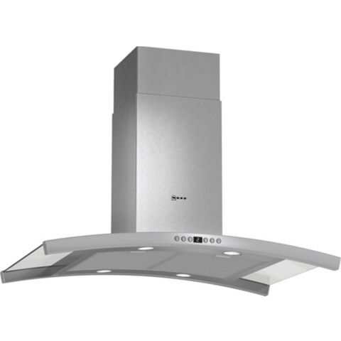 Neff I89DK62N0B Island Cooker Hood, Stainless Steel & Glass