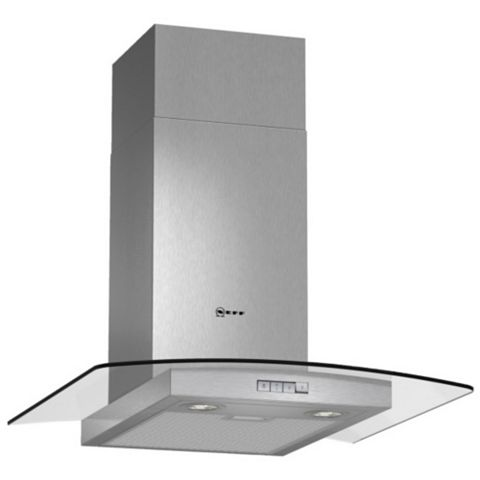 Neff D86GR22N0B Chimney Cooker Hood, Stainless Steel