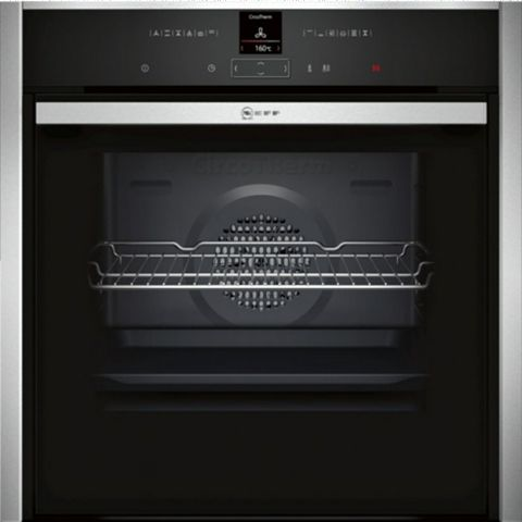 Neff B47CR32N0B Stainless Steel Electric Slide & Hide Single Oven