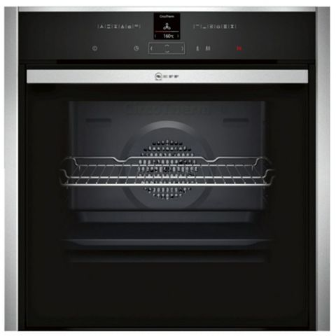 Neff B57CR22N0B Stainless Steel Electric Slide & Hide Single Pyrolytic Oven