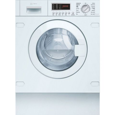 Neff V6540X1GB White Built In Washer Dryer
