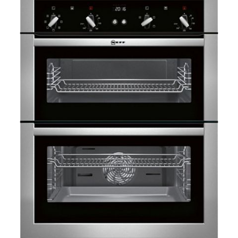 Neff U17M42N5GB Stainless Steel Electric Double Oven