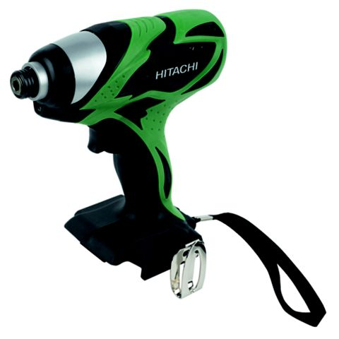 Hitachi Cordless 18V Li-Ion Impact Driver without Batteries WH18DSAL/L4-BARE