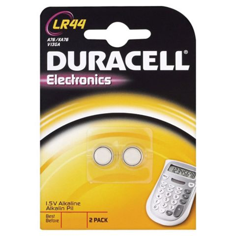 Duracell Electronics LR44 Alkaline Battery Of 2