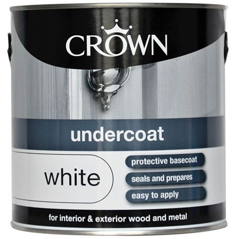 Crown White Undercoat 2.5L
