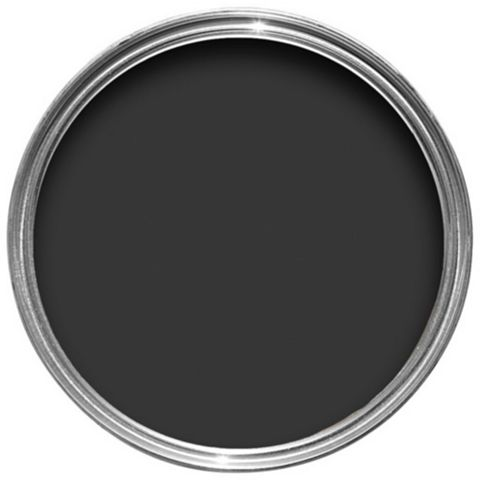 Crown Solo® Interior & Exterior Jet Black Gloss Paint 750ml