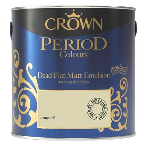 Crown Emulsion Paint Croquet, 2.5L