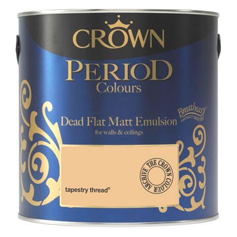 Crown Breatheasy Tapestry Thread Matt Emulsion Paint 2.5L